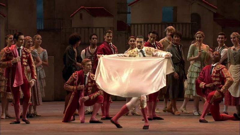Дон Кихот, танец матадоров (The Royal Ballet) , VK: урокиХореографии