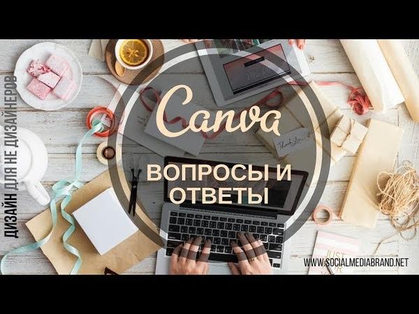 Canva.com - Вопрос-Ответ