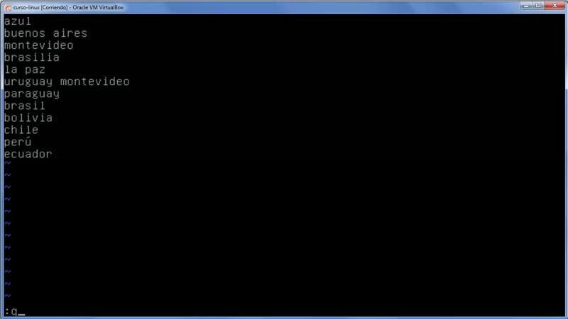 A Linux sin ventanas Lección 15