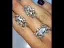 😍СУПЕР SALE SALE SALE шикарный кружевной комплект серебро925 цирконы алмазной огранки💎 ❗️ЦЕНА ниже закупки 2899₽❗️