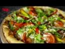 Очень вкусная пицца в ресторане Санто Бургер