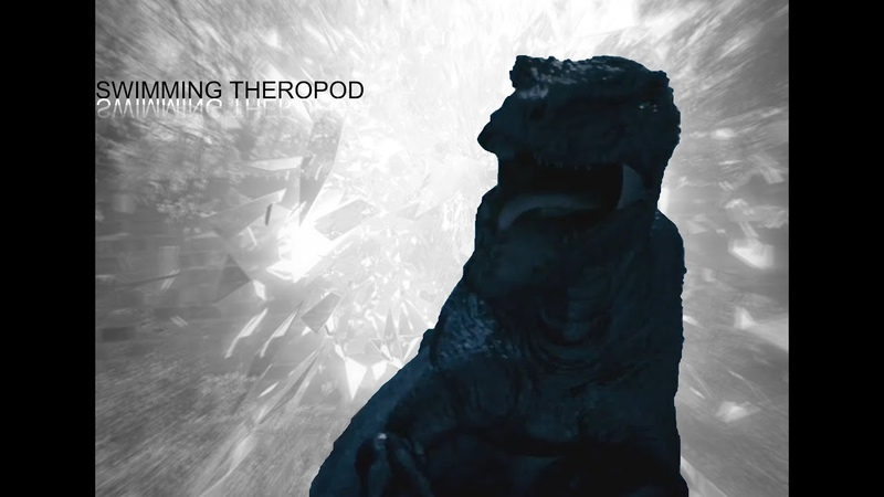 Primeval - Swimming theropod