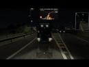 =Ночная поездка по Италии на Скании T 4-series со сцепкой B-doble=