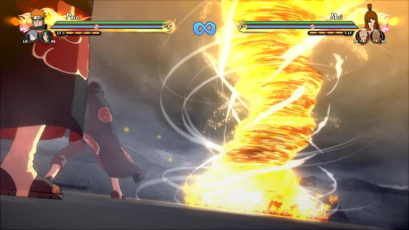WHOLE AKATSUKI ULTIMATE TEAM JUTSU