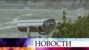 Черноморский циклон бушует у берегов Крыма и Кубани.