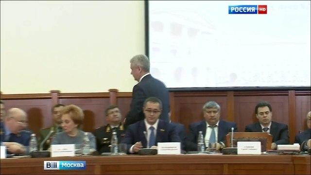 Вести-Москва • Собянин: в Москве достаточно низкий уровень преступности