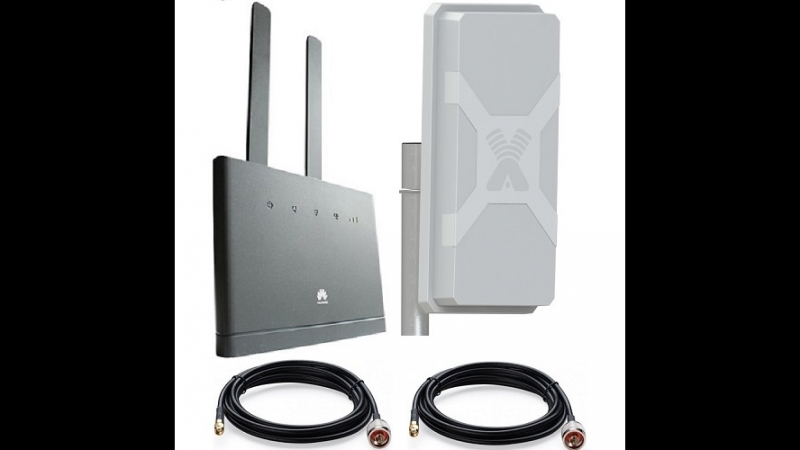Роутер с антенной на дачу 4G 3G