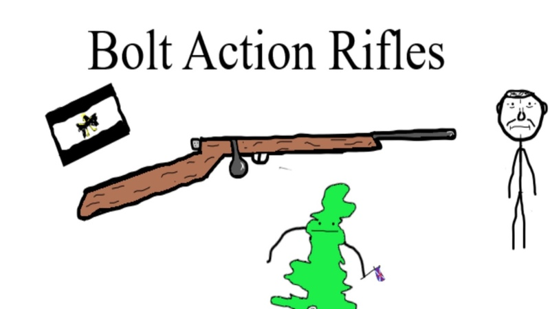 A brief history of the Bolt Action Rifle.