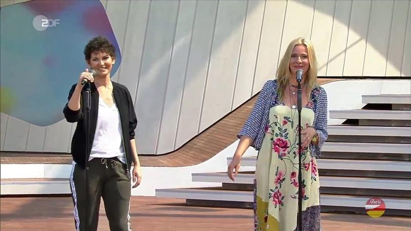 Lindt Bennett «Hallo Leben» (ZDF-Fernsehgarten 05.08.2018)