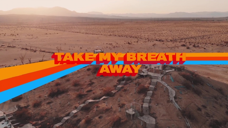Drone Video Lake Dolores / Lyric Video