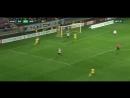 БАТЭ - Минск (2-0). Удар Драгуна пяткой в штангу