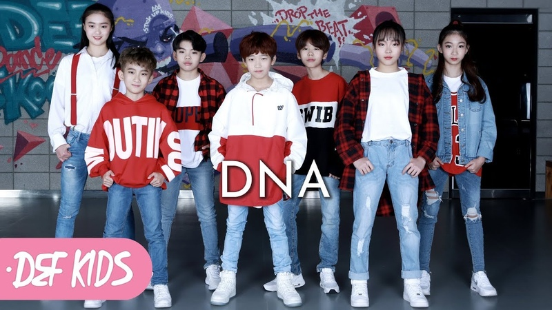 [키즈댄스 No.1] BTS (방탄소년단) - DNA KPOP DANCE COVER 데프키즈수강생 월말평가 방송안무 가수50