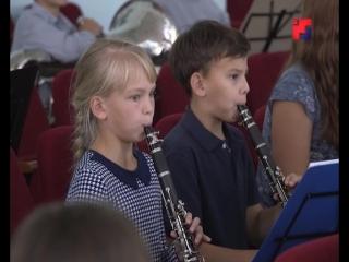 Сводный детский духовой оркестр Марий Эл готовится к своему первому выступлению 4 ноября