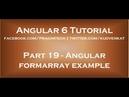 Angular formarray example