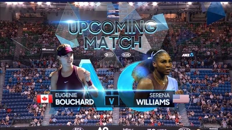 Serena Williams vs Eugenie Bouchard FULL MATCH AUSTRALIA OPEN 2019 HD P2