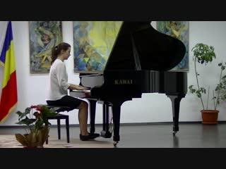 Уланова Светлана с композициями Соната n.9 (Е-dur), op.14 n.1, Л. Бетховен; и Музыкальный момент n.4 (e-moll), С. Рахманинов