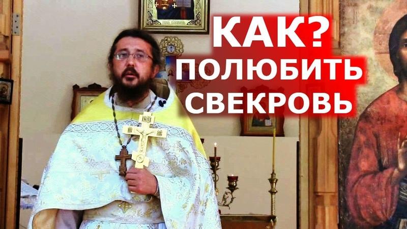 Как полюбить свекровь Священник Игорь Сильченков