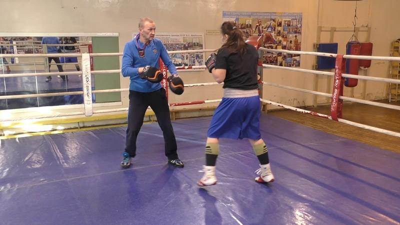 Бокс: Вход в среднюю дистанцию