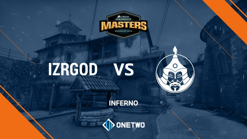 Izrgod vs Mongolz (de_inferno)   DreamHack Masters Marseille 2018 East Asia