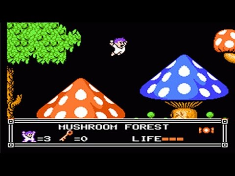 Little Nemo The Dream Master полное прохождение full gameplay Dendy NES