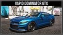 GTA Online Полный обзор нового Vapid Dominator GTX