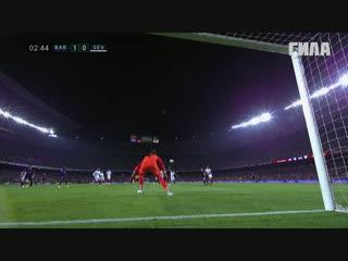 «Барселона» - «Севилья». Гол Коутиньо