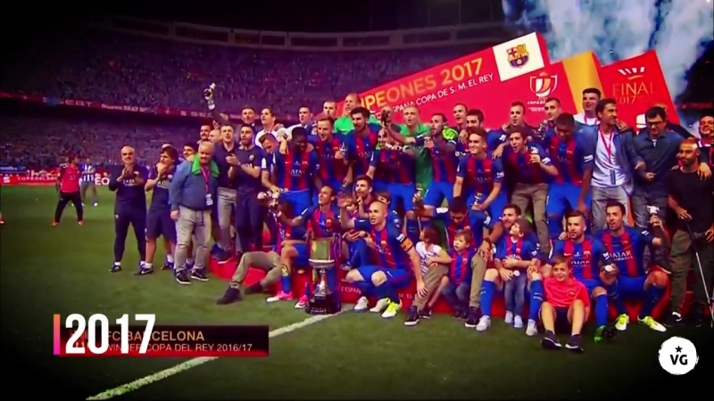 Барселона – Севилья. Промо к финалу Кубка Испании 2018
