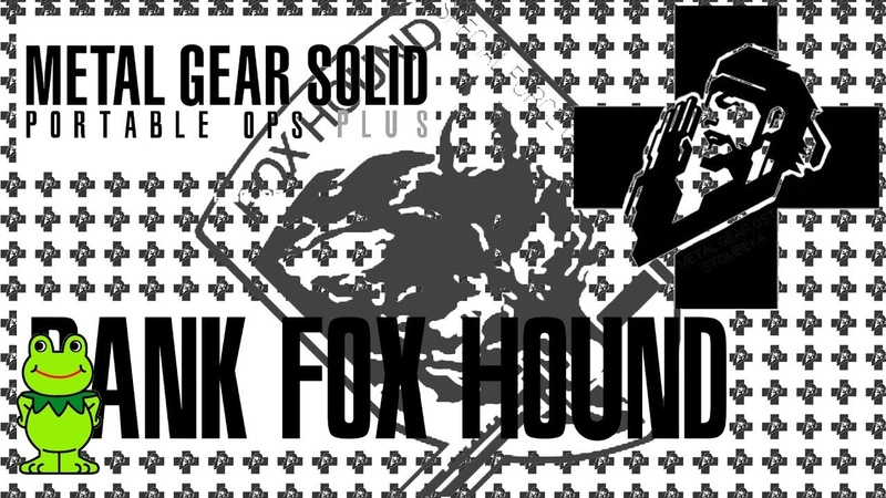 MGS Portable Ops Plus - Rank FOX HOUND (Highest Rank on Extreme Difficulty) Find Kerotan