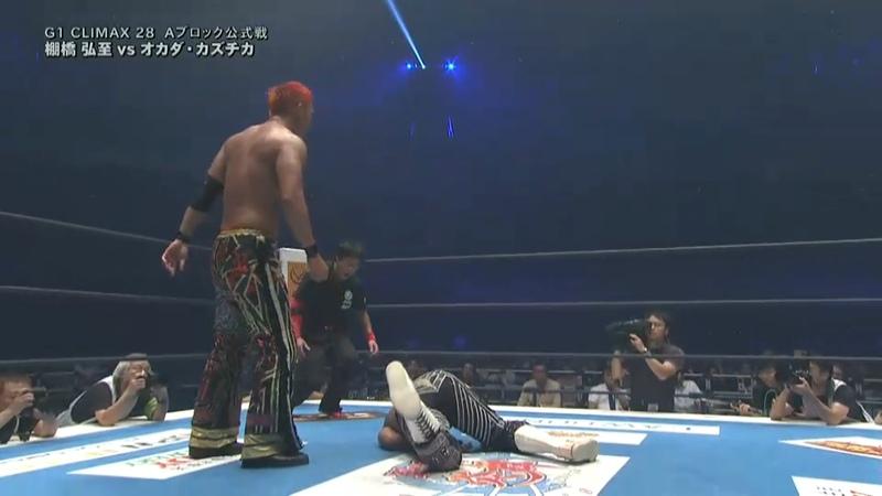 Hiroshi Tanahashi vs. Kazuchika Okada - NJPW G1 Climax 2018 - Tag 17