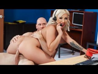 Madelyn Monroe Johnny Sins [ Brazzers лысый  Blowjob fuck sex office hard tits ass slut whore bitch Teen секс порно офис трах ]