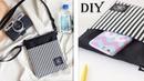 CUTE DIY CROSSBODY BAG FAST MAKING Small Messenger Bag Stripe Design Purse Tutorial