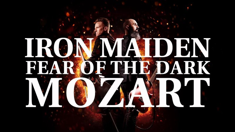 IRON MAIDEN - MOZART (Fear Of The Dark) : MOZART HEROES [EP ON FIRE]