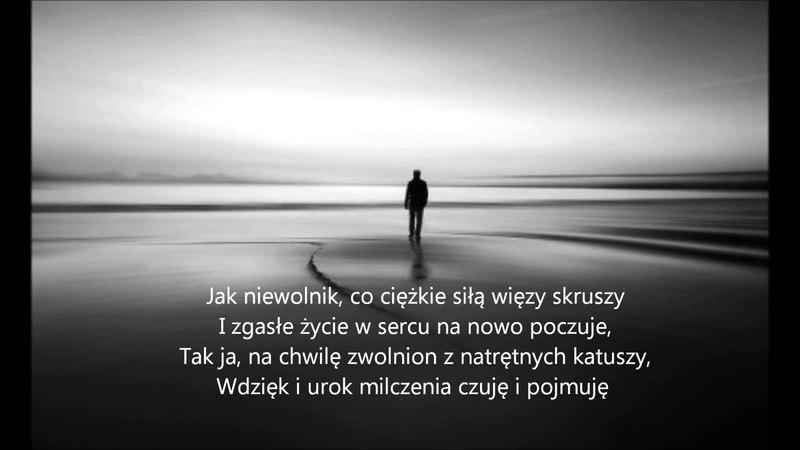 Poezja Śpiewana Samotność Cyprian Kamil Norwid Melnarowicz