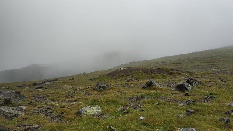 Вид с Обсерватории на Терскольское Ущелье.
