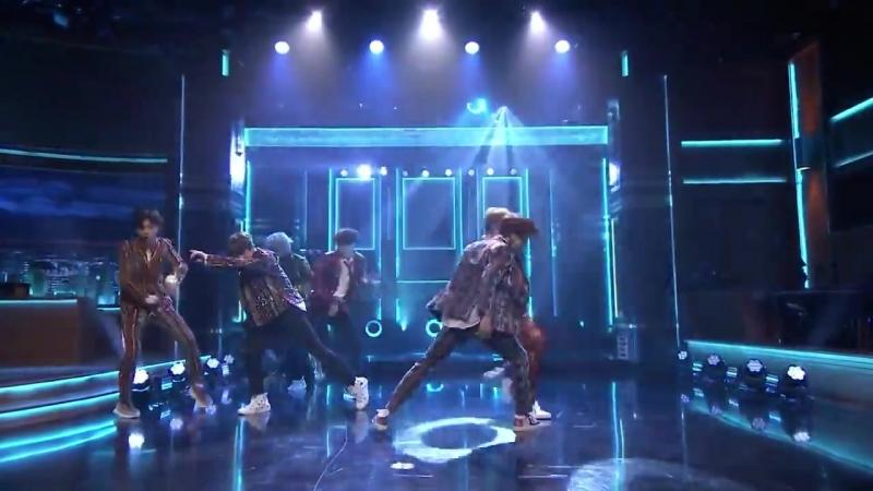 180925 BTS - l'm Fine @ The Tonight Show Starring Jimmy Fallon