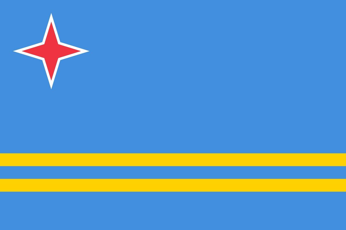 Флаг Аруба