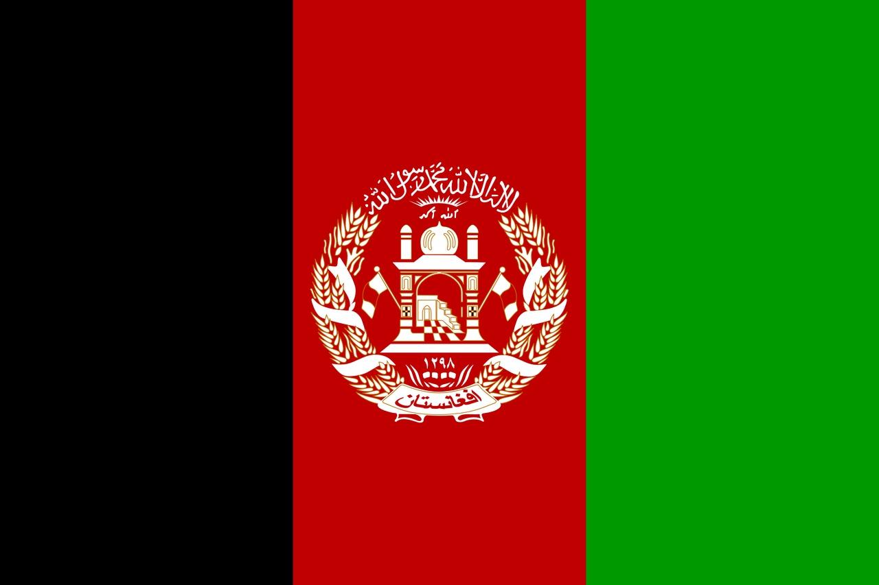 Флаг Афганистан