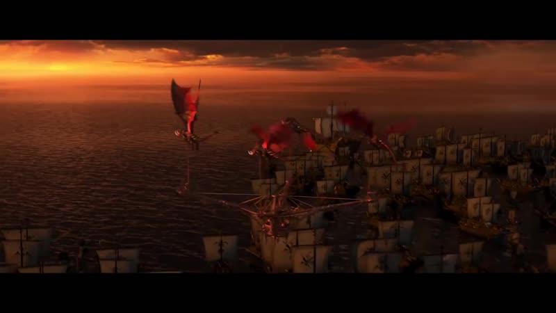 Как приручить дракона 3 Трейлер 2 (дублированный)