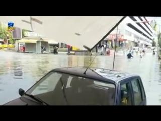 1503 Турция. Град. Дождь. Город Анкара. 20 мая 2018.