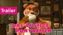 Mascha und der Bär Das lustige Ponyreiten Trailer