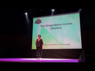 Караоке-The Dragonborn comes (Skyrim)-Patricia Heather