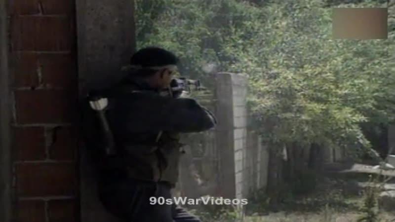 Действия подразделений полиции СРЮ на территории Косово. Глоджане, 12 августа 1998 года