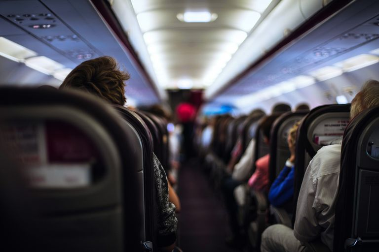 Полет на самолете с раком