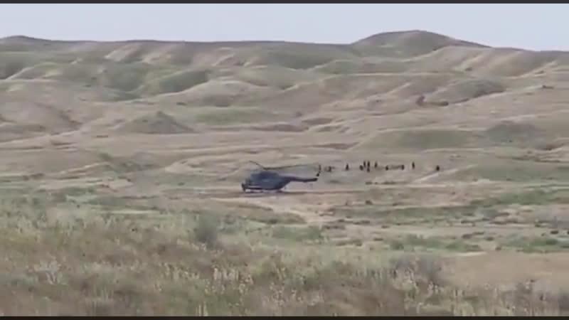 Ми-171ш высадка спецназа ВС Ирака
