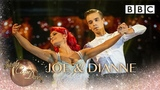 Joe Sugg &amp Dianne Buswell Viennese Waltz to 'This Years Love' by David Gray - BBC Strictly 2018