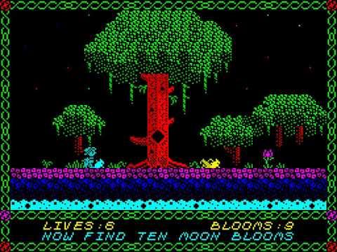 Nixy the Glade Sprite Longplay (Spectrum 128K) [50 FPS]