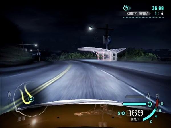 Need for Speed Carbon (2006) | FWD Mitsubishi Eclipse GT V6 3.8 24V (Заводская Машина) - Университетский проспект (Контрольная точка)