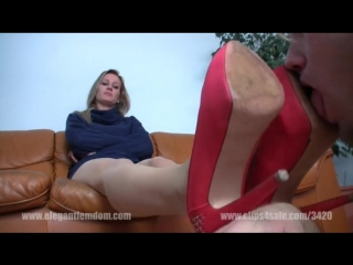 Worship pink heels Mistress Demona