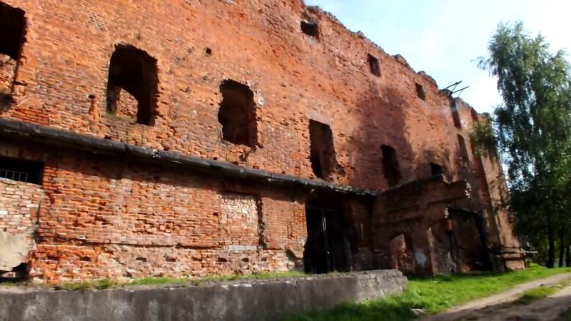 Неман Развалины Тевтонского замка