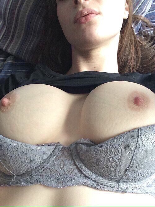 Wife gets dp selfies and cum